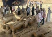 Սենսացիոն գտածո. Եգիպտոսում 30 հատ 3 հազար տարեկան սարկոֆագներ են գտել