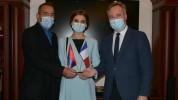 Էջմիածնի քաղաքապետը շնորհակալություն է հայտնել Ֆրանսիային՝ հումանիտար աջակցության համար