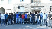 Կազմավորվել է ԵՊՀ կամավորական դասակ, որն այսօր մեկնել է Արցախ