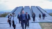 Եվրոպայի Խորհրդի պատվիրակության անդամներն այցելեցին Հայոց ցեղասպանության հուշահամալիր