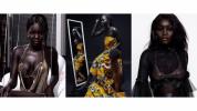 24-ամյա սուդանցի մոդելն աշխարհին զարմացնում է իր արտասովոր սև մաշկով (լուսանկարներ)