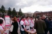 ՁԻԱՀ-ից մահացած մարդկանց հիշատակի միջազգային օրը Գյումրիում տեղեկատվական ակցիա և մոմավառու...