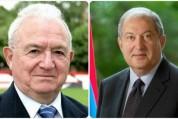 Նախագահ Սարգսյանը պարգևատրել է Նիկիտա Սիմոնյանին