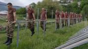 3-րդ զորամիավորման զորամասերից մեկում անցկացվել են ֆիզիկական պատրաստության գործնական պարապ...
