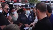 Ոստիկանները Գևորգ Պետրոսյանին տուգանեցին դիմակ չկրելու համար