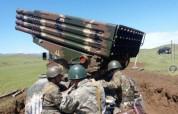 Հայաստանի ԶՈւ հրետանային զորավարժություններ «Գրադ» համակարգերի մասնակցությամբ