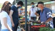 «Հրազդան» մարզադաշտի հարակից տարածքում վերաբացվել է գյուղմթերքի տոնավաճառը