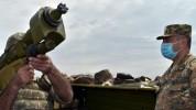 Հակաօդային պաշտպանության ստորաբաժանումների զինծառայողները դաշտային պայմաններում անցկացրել ...