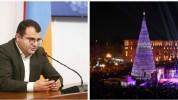 Երևանում այս տարի ամանորյա զարդարանք չի լինելու. քաղաքապետի մամուլի խոսնակ