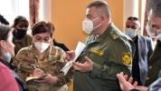 ՀՀ ԶՈՒ ԳՇ սպաները հանդիպել են պատերազմի մասնակիցների հարազատների հետ (լուսանկարներ)