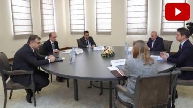 ԱԳ նախարար Արա Այվազյանի հանդիպումը ՀՀ-ում ԵԱՀԿ Մինսկի խմբի համանախագահ երկրների դեսպանների հետ (տեսանյութ)