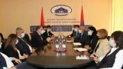 Արցախի ԱԳ նախարար Մասիս Մայիլյանն ընդունել է ՀՀ ԱԳՆ կենտրոնական ապարատի պատվիրակությանը