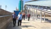 Արայիկ Հարությունյանն այցելել է Ասկերանում գործող ցեմենտի արտադրության նորաբաց գործարան