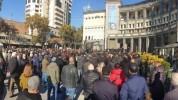 Երևանում մի խումբ արվեստագետներ բողոքի ակցիա են իրականացնում հայ գերիներին վերադարձնելու պ...