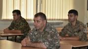 5-րդ զորամիավորումում անցկացվել է ենթակա զորամասերի համալրման բաժանմունքների պետերի հավաք-...