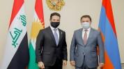 ԲՏԱ նախարարն ընդունել է Իրաքյան Քրդստանի փոխվարչապետին
