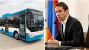 Նոր ավտոբուսները հագեցած կլինեն օդորակիչներով, LED լուսատախտակներով և հատուկ կահավորանքով....