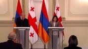 Հայաստանի և Վրաստանի նախագահների հայտարարությունները ԶԼՄ ներկայացուցիչների համար (ուղիղ մի...