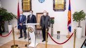 ԵՊԲՀ-ում բացվեց մերօրյա հերոսների հիշատակին նվիրված հուշատախտակ