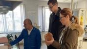Մեսրոպ Առաքելյանն ու Մանե Թանդիլյանն այցելել են Ստեփանակերտի պրոթեզաօրթոպեդիկ կենտրոն