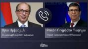 Հայաստանի և Կուբայի արտգործնախարարները մտքեր են փոխանակել ԵԱՏՄ շրջանակներում համագործակցու...