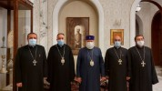 Հոգևորականների հերթական խումբն է մեկնել առաջնագիծ՝ զորավիգ լինելու հայրենյաց պաշտպաններին ...