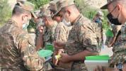 4-րդ զորամիավորման ենթակա զորամասերից մեկում անցկացվել են վաշտերի և մարտկոցների հրամանատար...