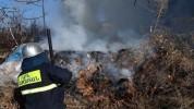 Հրդեհ Տավուշի մարզում․ այրվել է 5 հա խոտածածկ տարածք և մացառուտ