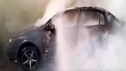 Վարդենիս քաղաքում «Opel Astra G» մակնիշի ավտոմեքենա է այրվել