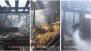 Հրդեհ Ձորակապ գյուղում. այրվել են տանիքի փայտյա կառուցատարրերը