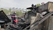 Հրդեհ Գյումրի քաղաքում. այրվել է ավտոտնակի տանիքն ու երկու խորդանոցը