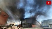 Հրդեհ Արին Բերդի փողոցում․ կիսակառույց շինությունում այրվում են շինարարական նյութեր (տեսան...