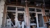 Նոր լուսանկարներ Ստեփանակերտի կենտրոնական շուկայի և բնակելի շենքի հրթիռակոծության հետևանքն...