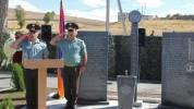 Բացվել է Արցախյան 44-օրյա պատերազմում զոհված զինծառայողներին նվիրված հուշաքար