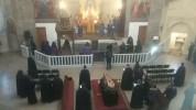 Պատարագ՝ Գուգարաց թեմի առաջնորդ Տ. Սեպուհ արքեպիսկոպոս Չուլջյանի հուղարկավորությունից առաջ...