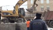 Մալաթիա–Սեբաստիա վարչական շրջանում ավտոտնակներ են քանդում՝ «Հյուսիս–հարավ» ճանապարհի կառու...