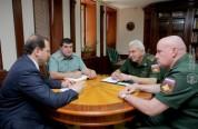 Դավիթ Տոնոյանը ՌԴ հարավային օկրուգի ներկայացուցիչների հետ քննարկել է Փանիկ գյուղում տեղի ո...