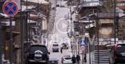 Նոր վերանորոգված սալիկապատ փողոցն արդեն քանդվում է․ ոնց են ծախսվել Գյումրիում դրված միլիարդները