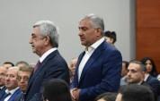 Սամվել Կարապետյանն այսօր մոտ մեկ ժամ զբոսնել է ՀՀ երրորդ նախագահ Սերժ Սարգսյանի հետ. Hrapa...
