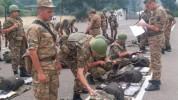 1-ին զորամիավորման զորամասերից մեկում անցկացվել է շարային ստուգատես