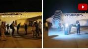 Մարդասիրական օգնություն տեղափոխող առաջին ինքնաթիռը վայրէջք է կատարել Բեյրութի միջազգային օ...