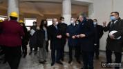 Ֆրանսիայի ԱԳՆ պետքարտուղարը Երևանում այցելեց ֆրանսիական կրթահամալիրի ապագա շենքի շինհրապար...