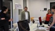 ԿԳՄՍ փոխնախարար Կարեն Թռչունյանը շրջայց է կատարել Հայաստանի ամերիկյան համալսարանում