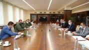 ՊՆ վարչական համալիրում անցկացվել է միջգերատեսչական խորհրդակցություն ՀՀ պաշտպանության և արտ...