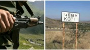 Ադրբեջանական կողմը կրակոցներ է արձակել Կոթի գյուղի ուղղությամբ