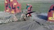 Զինծառայողների կրակի վարման հմտությունները կատարելագործելու նպատակով N զորամասի հրաձգարանո...