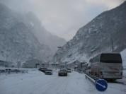 Автодорога Степанцминда-Ларс открыта для всех видов автомобилей