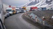 Լարսը բաց է. ռուսական կողմում կա մոտ 295 կուտակված բեռնատար ավտոմեքենա