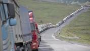 Ստեփանծմինդա-Լարս ավտոճանապարհի ռուսական կողմում մոտ 370 կուտակված բեռնատար ավտոմեքենա կա․...