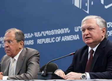 Пресс-конференция Сергея Лаврова и Эдварда Налбандяна (видео)